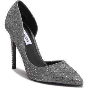 New Steve Madden Felicity Pewter High Heels